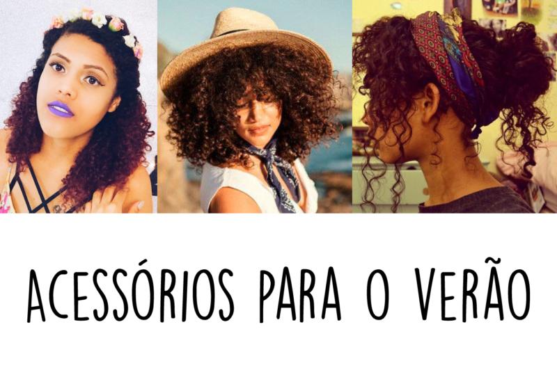 Acessórios de cabelo para o verão - Inspiração Pinterest